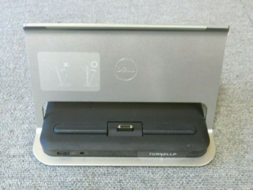 Dell K10A001 K10A Venue 11 Pro & Latitude 13 Silver Tablet Docking Station